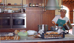 organize cooking lessons with tuscan  recipes