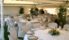 rent the villa to organize parties in the garden near the swimming pool, Italy